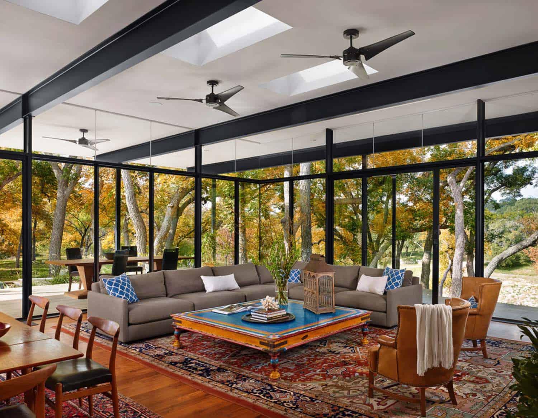 Modern Creekside Home-Baldridge Architects-04-1 Kindesign