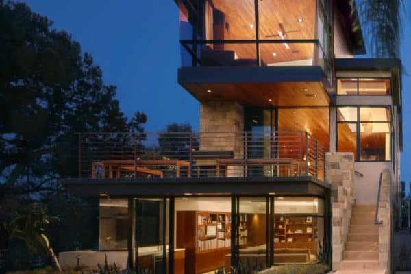 featured posts image for A modern tree house built for family living in Manhattan Beach