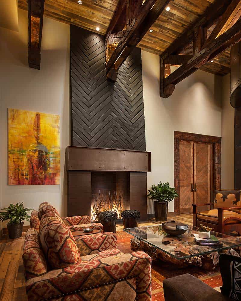 Rustic Ranch Furniture: Insanely Designed Rustic Contemporary Ranch House In Arizona