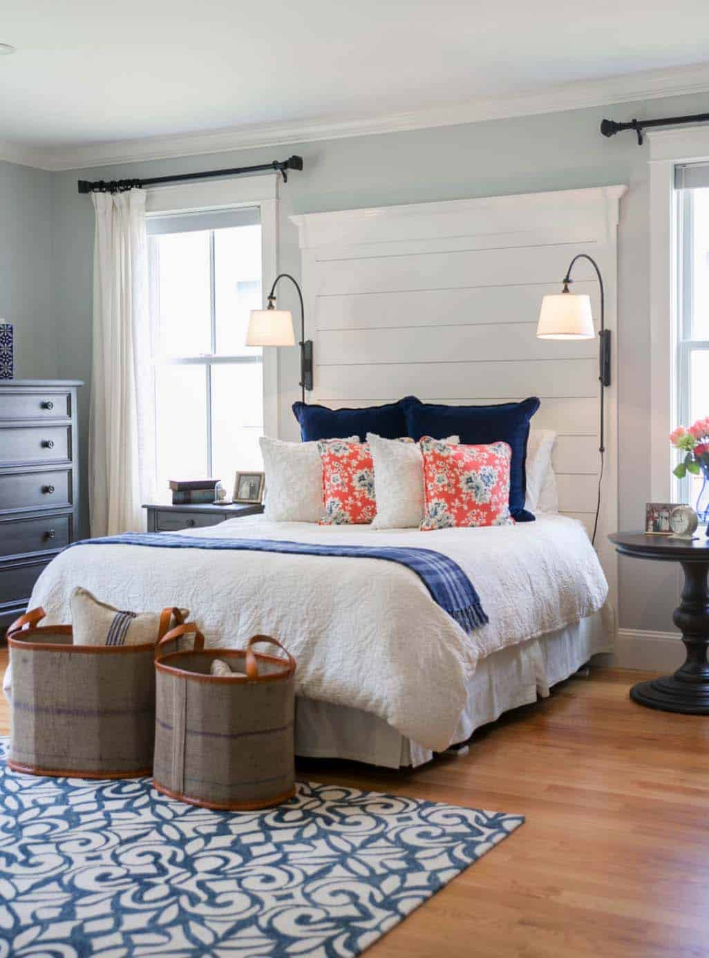 Beach Design Bedroom. Shiplap Wall Ideas Home 01 1 Kindesign Beach Design  Bedroom