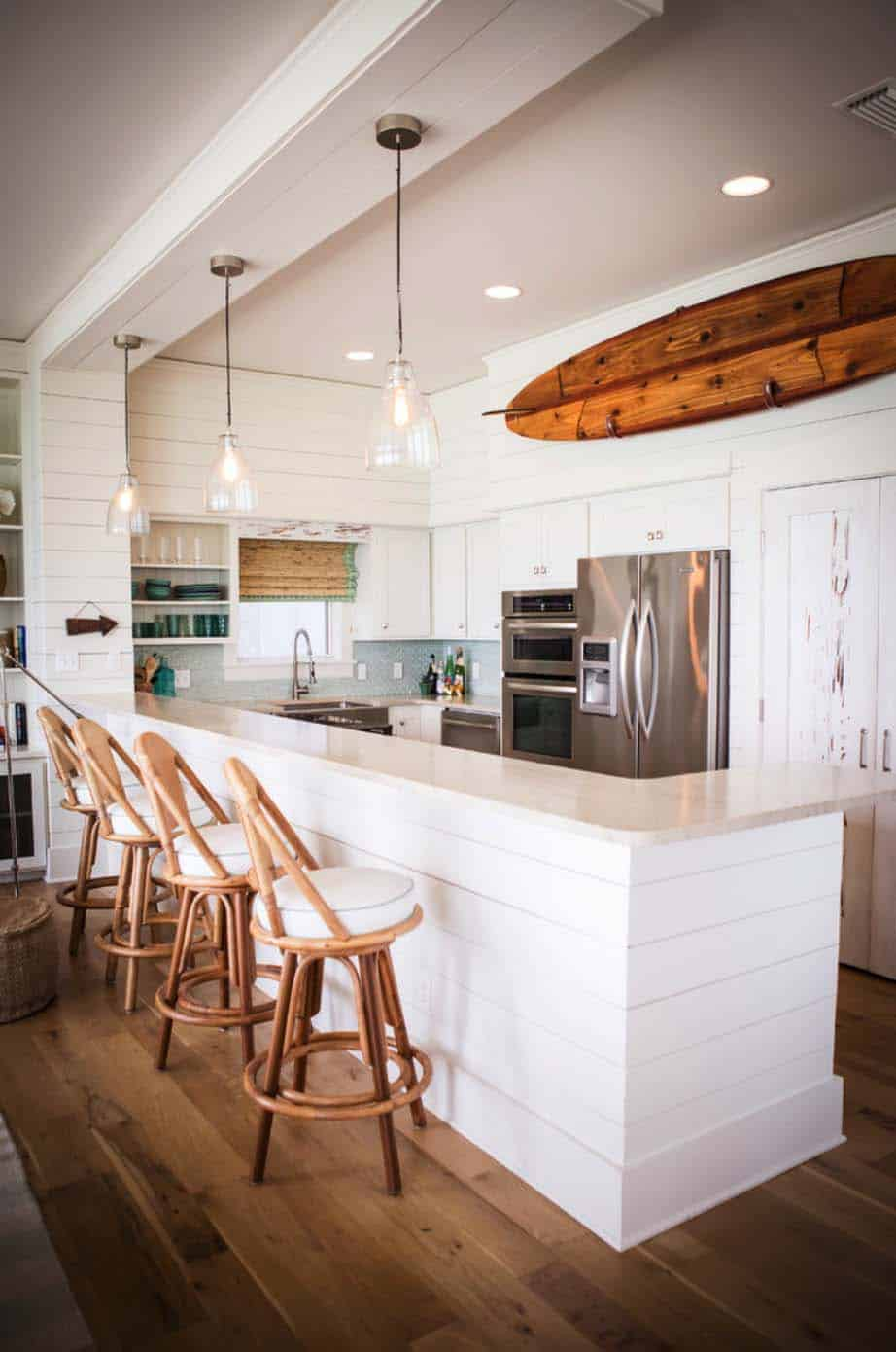 37 Most beautiful examples of using shiplap in the home