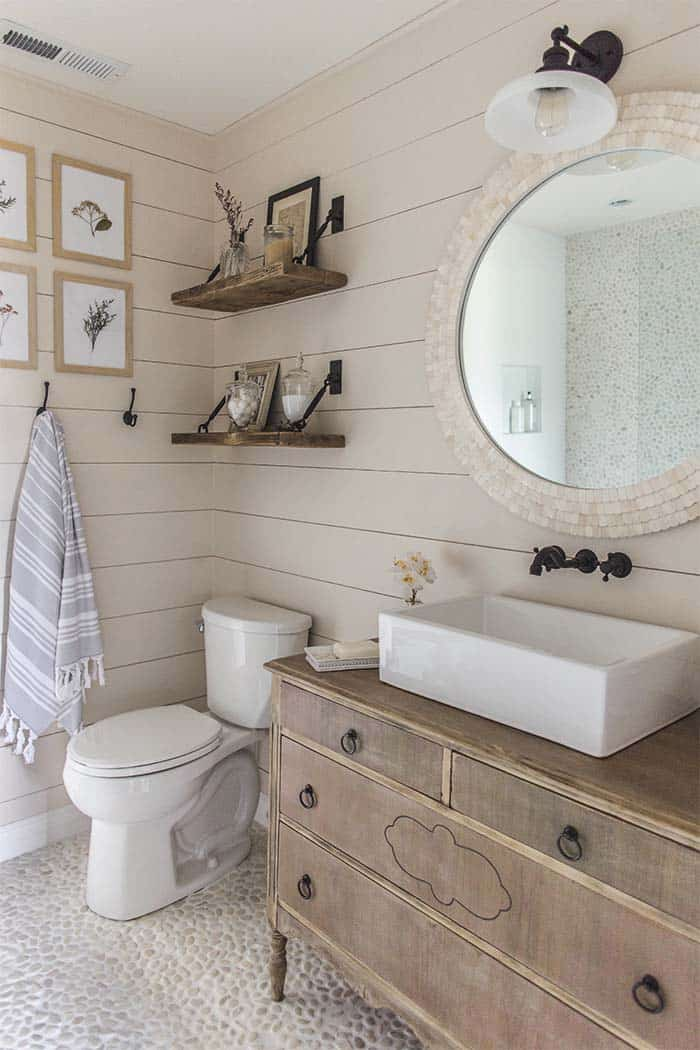Shiplap Wall Ideas Home-32-1 Kindesign
