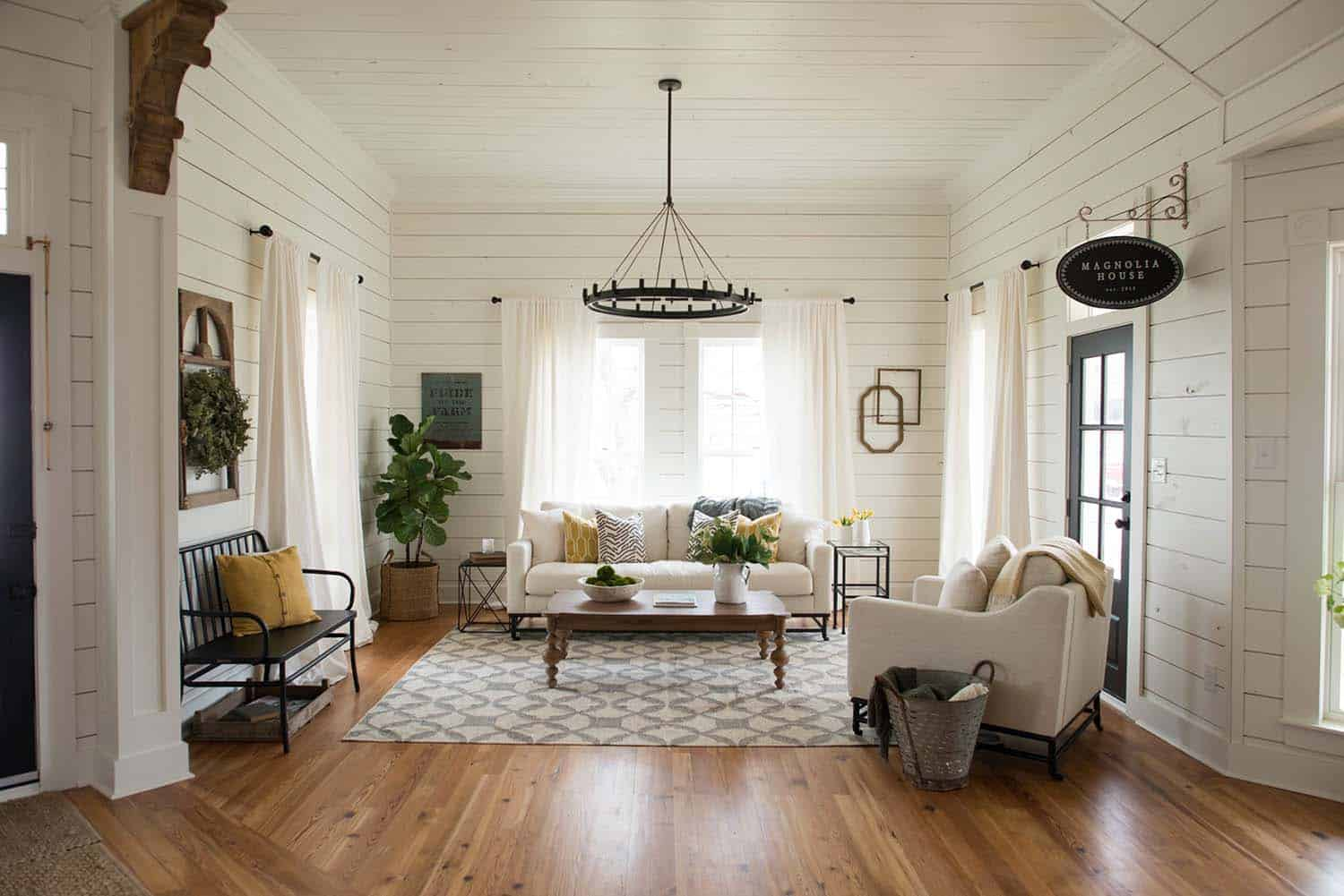 Shiplap Wall Ideas Home-37-1 Kindesign