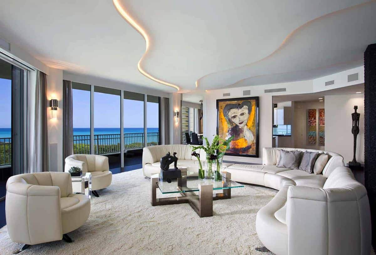 sexy and sleek contemporary residence in jupiter  florida