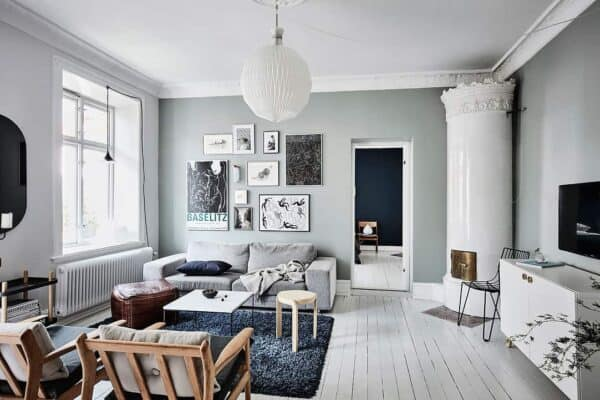 featured posts image for Charming small apartment in Gothenburg with unique details