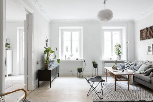 featured posts image for Small yet ultra charming one bedroom apartment in Linnestaden