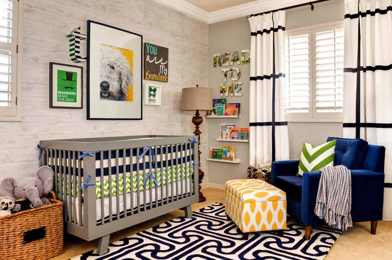 Stylish Nursery Decorating Ideas-01-1 Kindesign