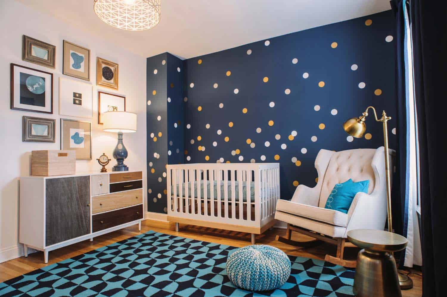 Stylish Nursery Decorating Ideas-015-1 Kindesign