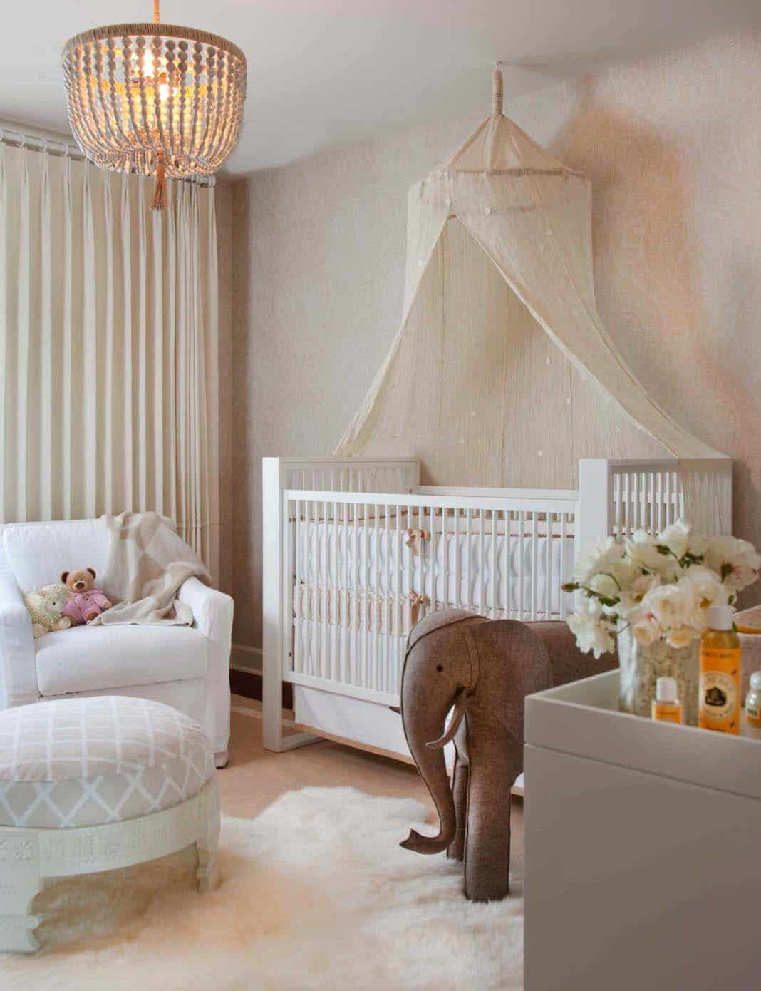 Stylish Nursery Decorating Ideas-03-1 Kindesign