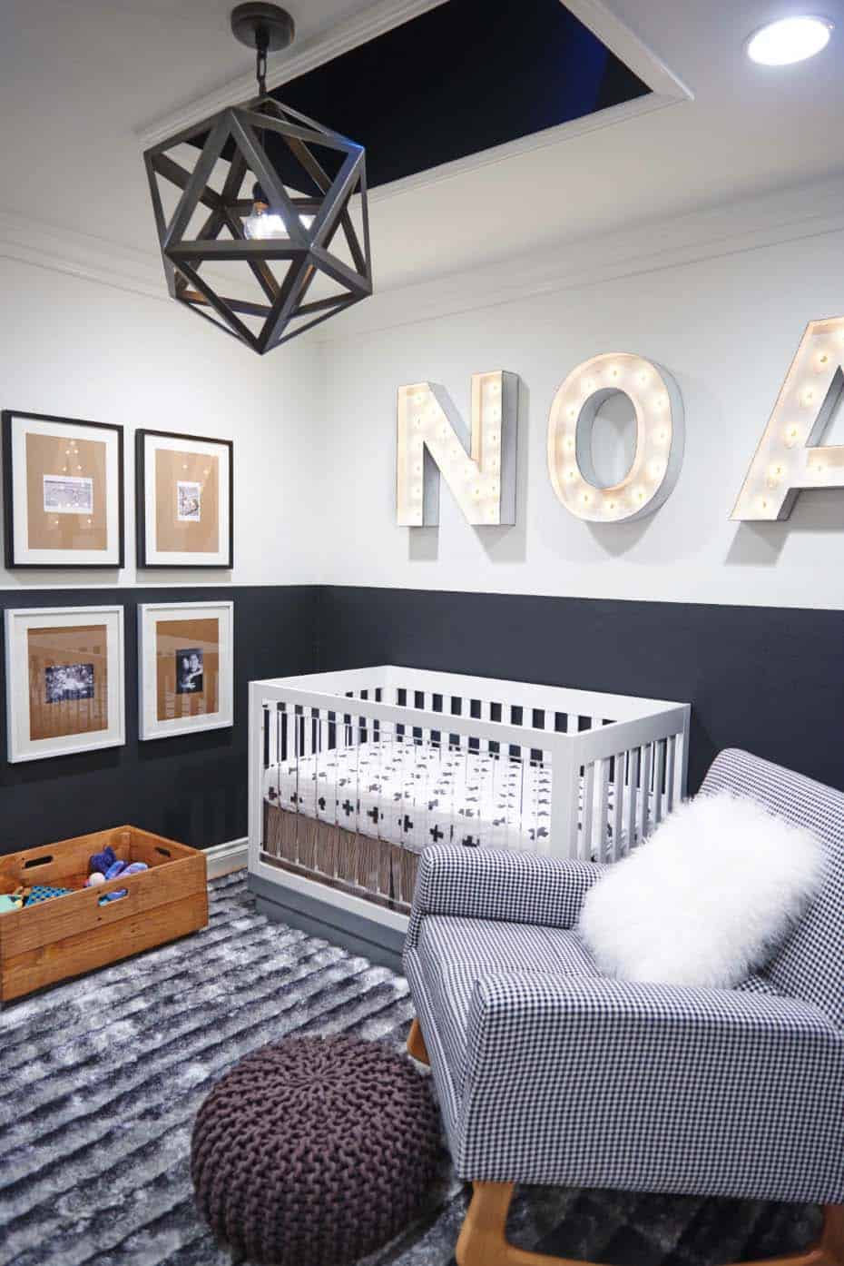 Stylish Nursery Decorating Ideas-05-1 Kindesign