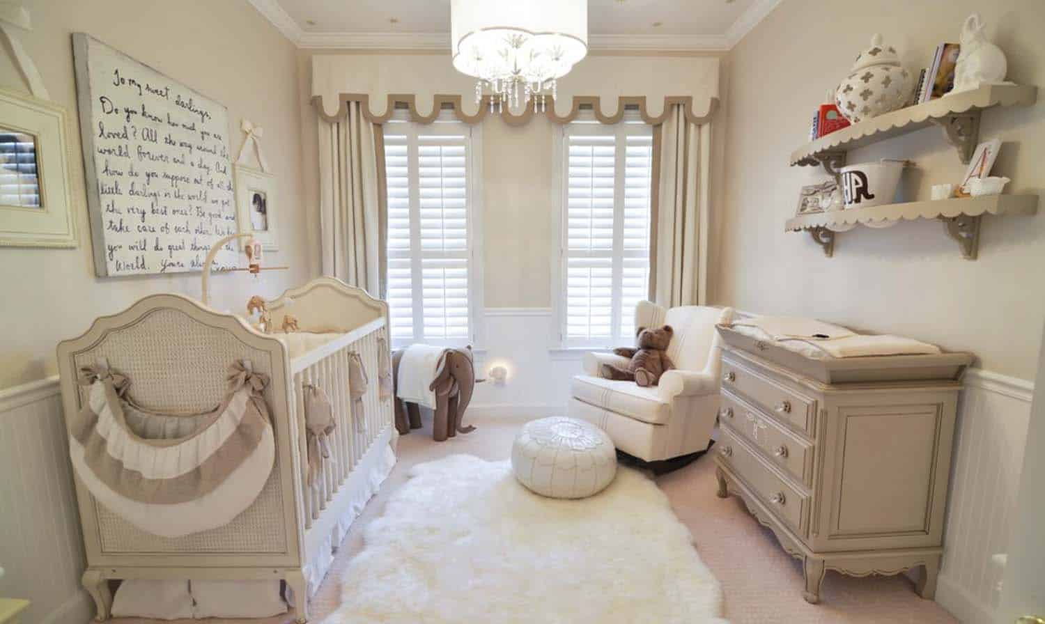 Stylish Nursery Decorating Ideas-06-1 Kindesign