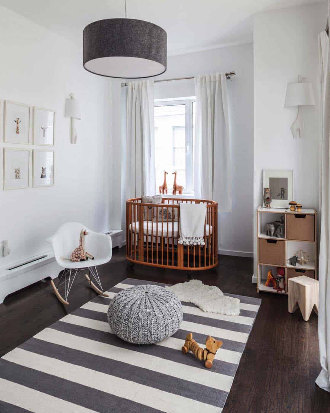 Stylish Nursery Decorating Ideas-08-1 Kindesign