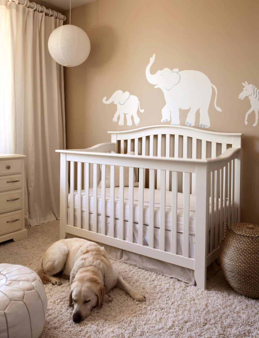 Stylish Nursery Decorating Ideas-11-1 Kindesign