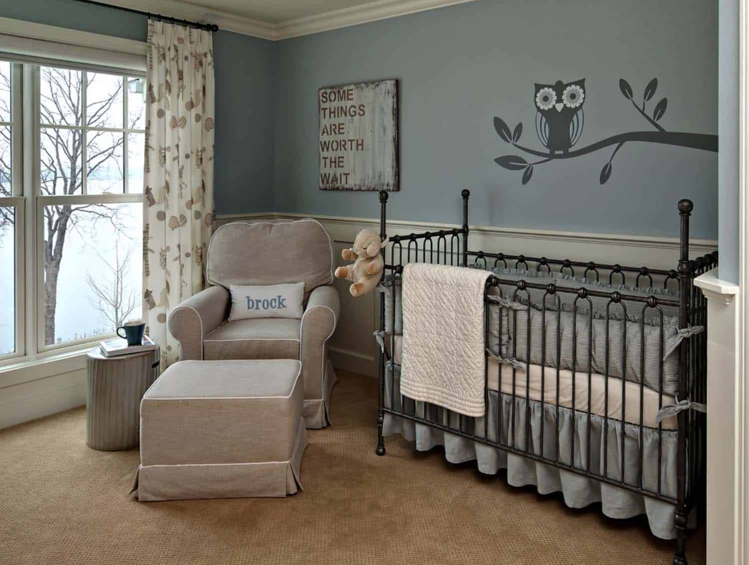Stylish Nursery Decorating Ideas-13-1 Kindesign