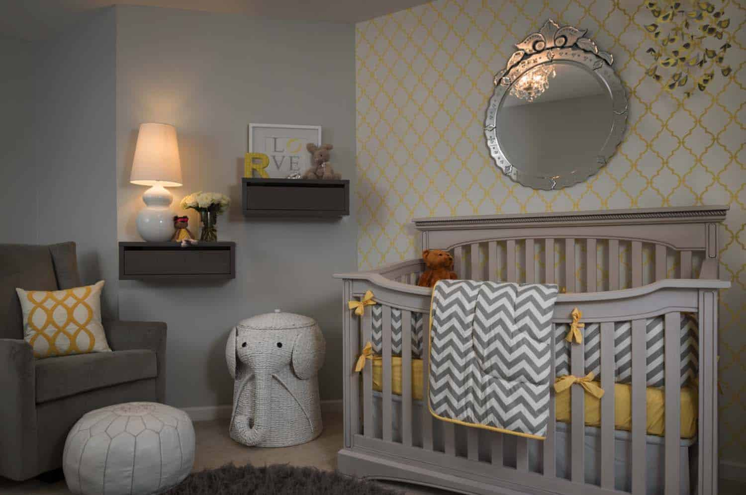 Stylish Nursery Decorating Ideas-14-1 Kindesign