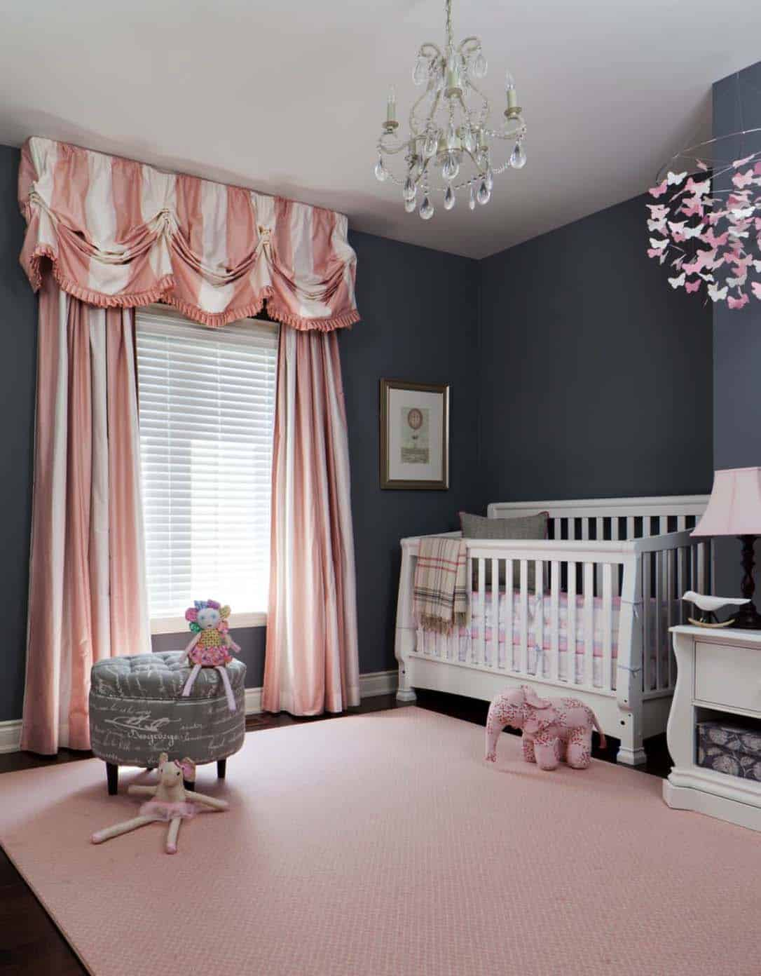 Stylish Nursery Decorating Ideas-16-1 Kindesign