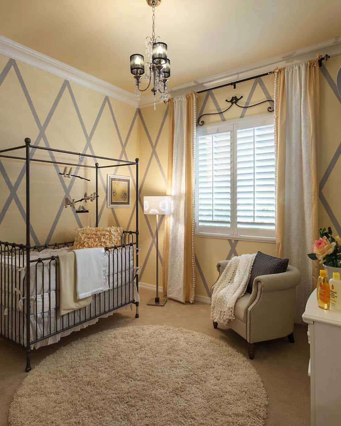 Stylish Nursery Decorating Ideas-21-1 Kindesign