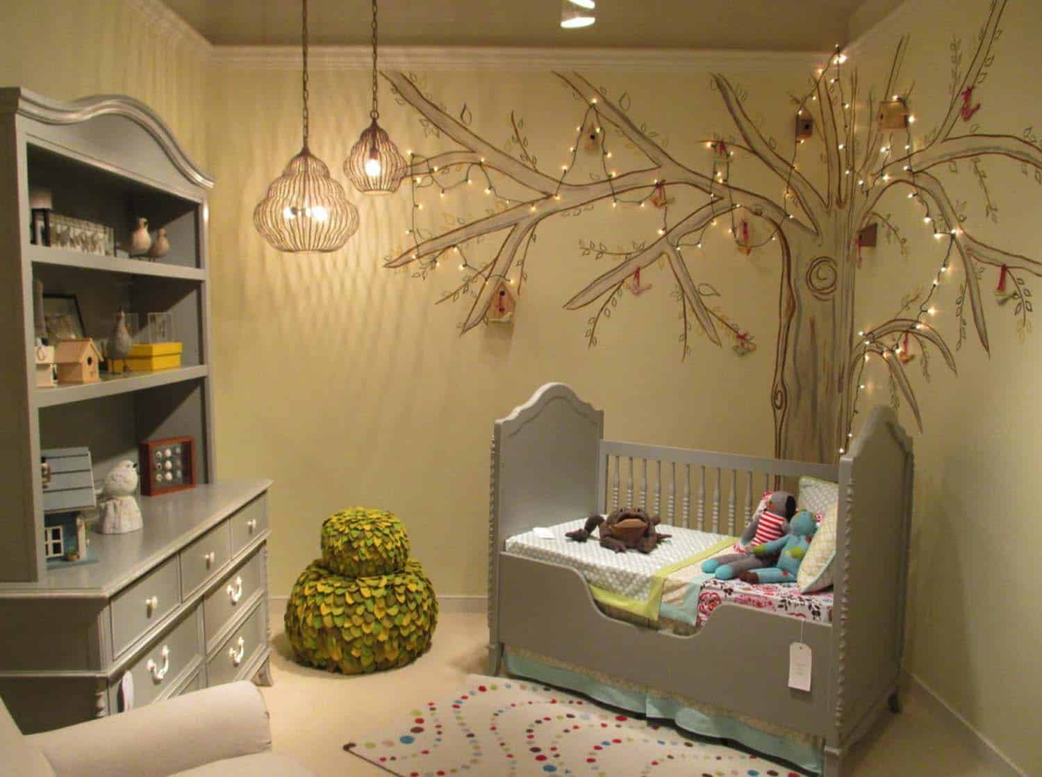 Stylish Nursery Decorating Ideas-23-1 Kindesign