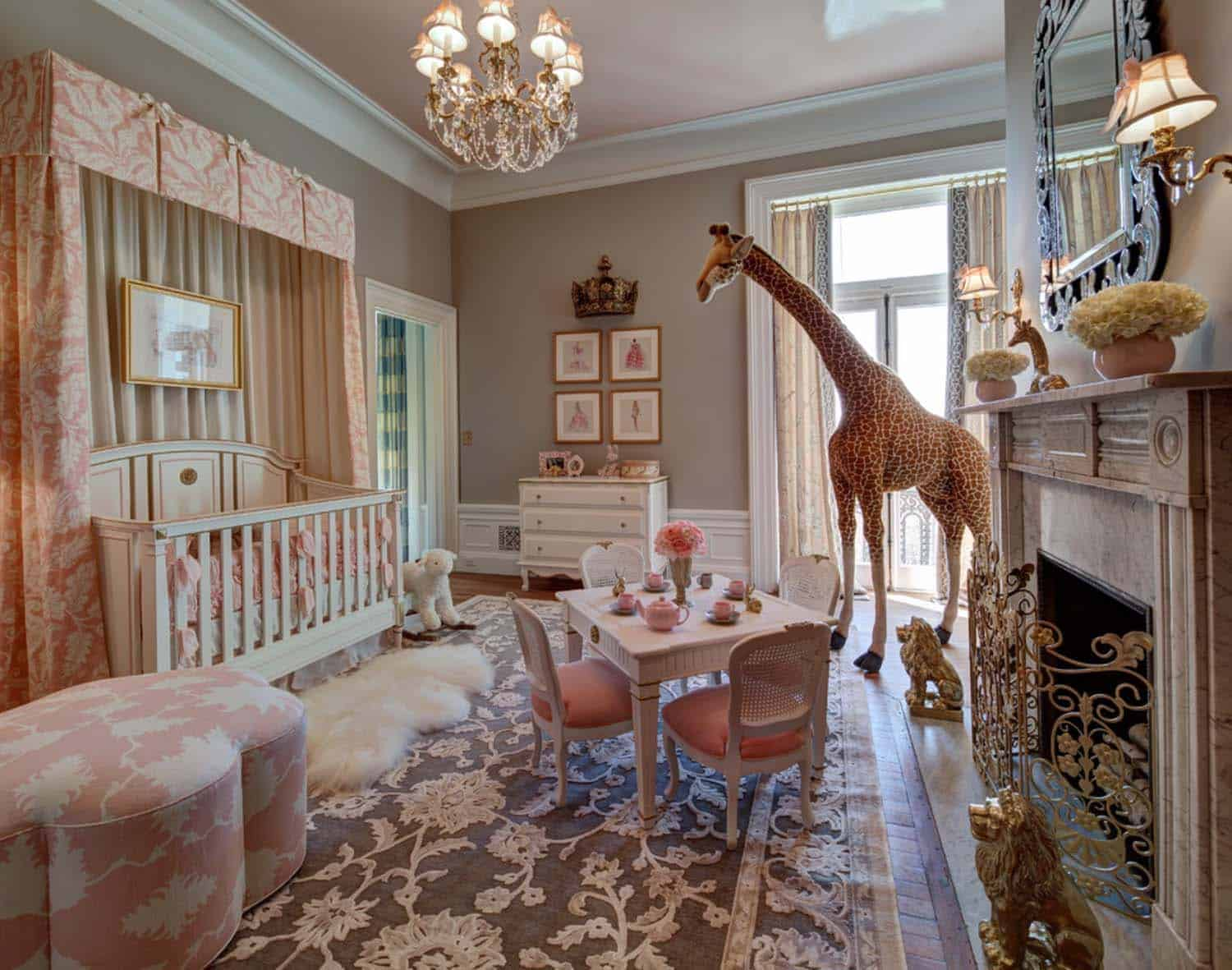 Stylish Nursery Decorating Ideas-24-1 Kindesign