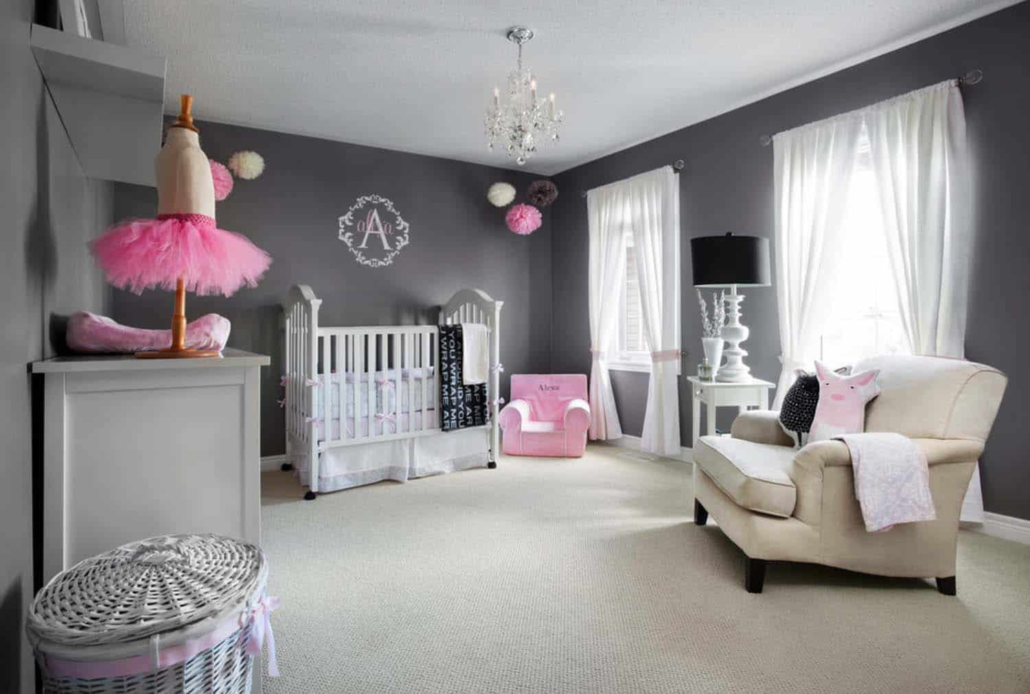 Stylish Nursery Decorating Ideas-26-1 Kindesign