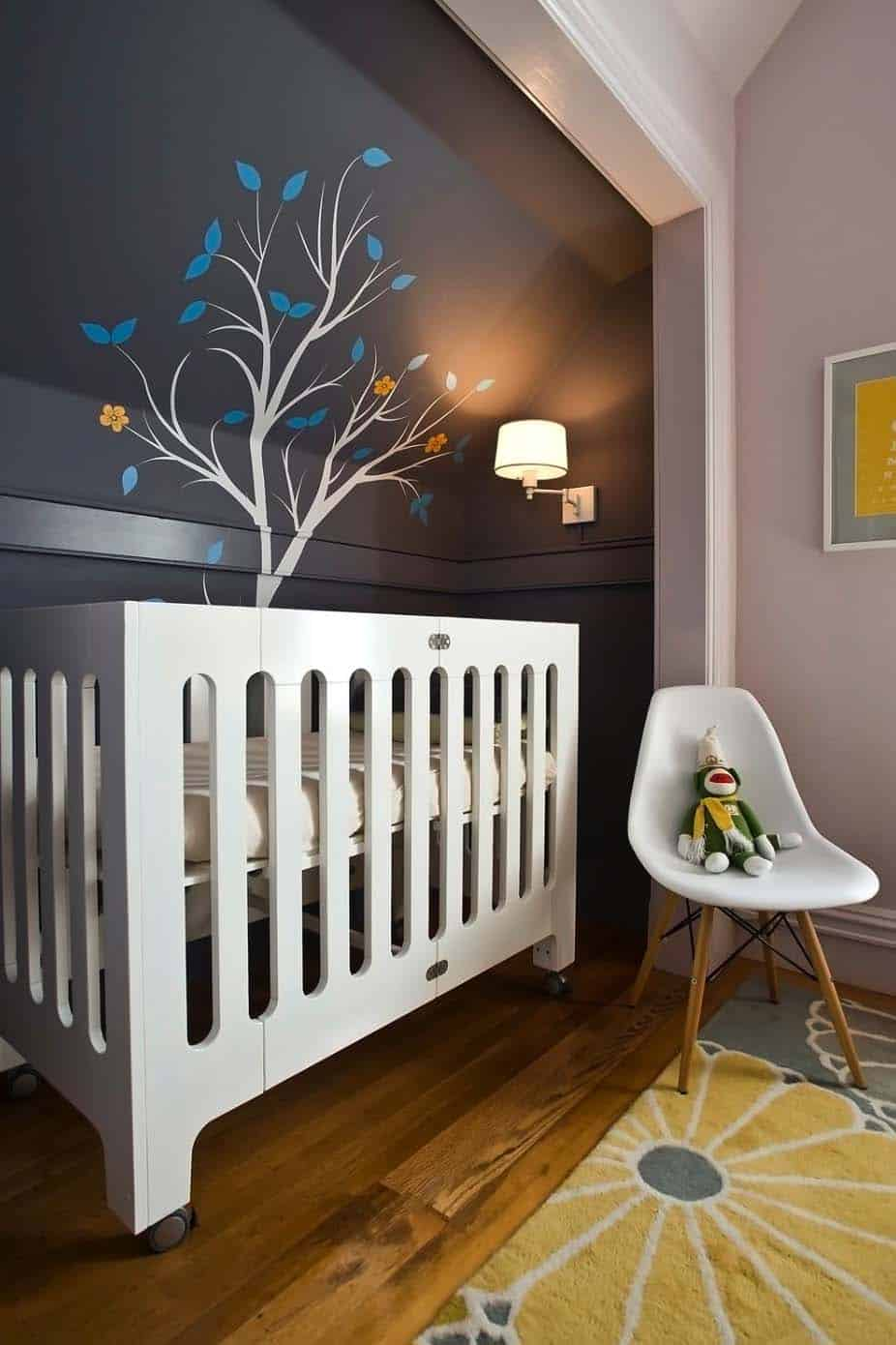 Stylish Nursery Decorating Ideas-27-1 Kindesign