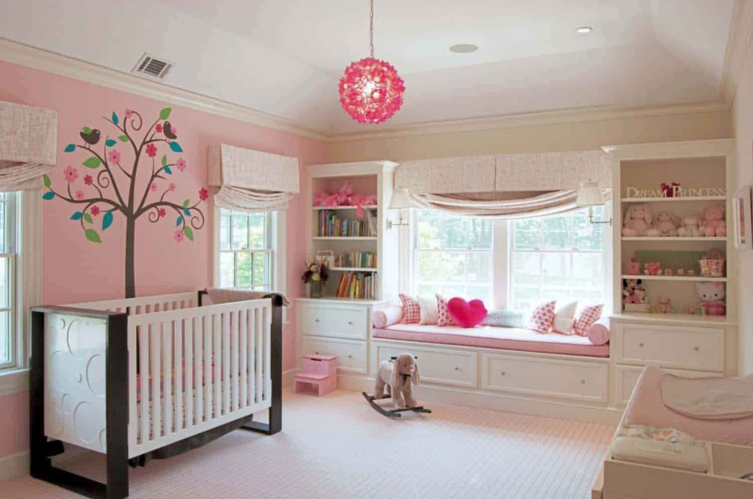 Stylish Nursery Decorating Ideas-28-1 Kindesign
