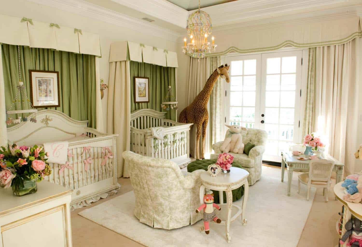 Stylish Nursery Decorating Ideas-29-1 Kindesign