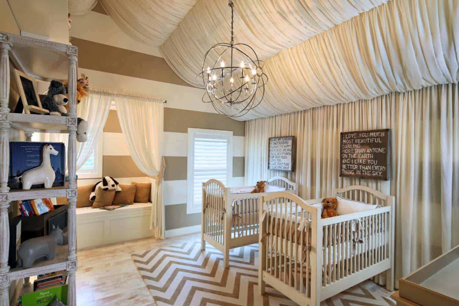 Stylish Nursery Decorating Ideas-30-1 Kindesign