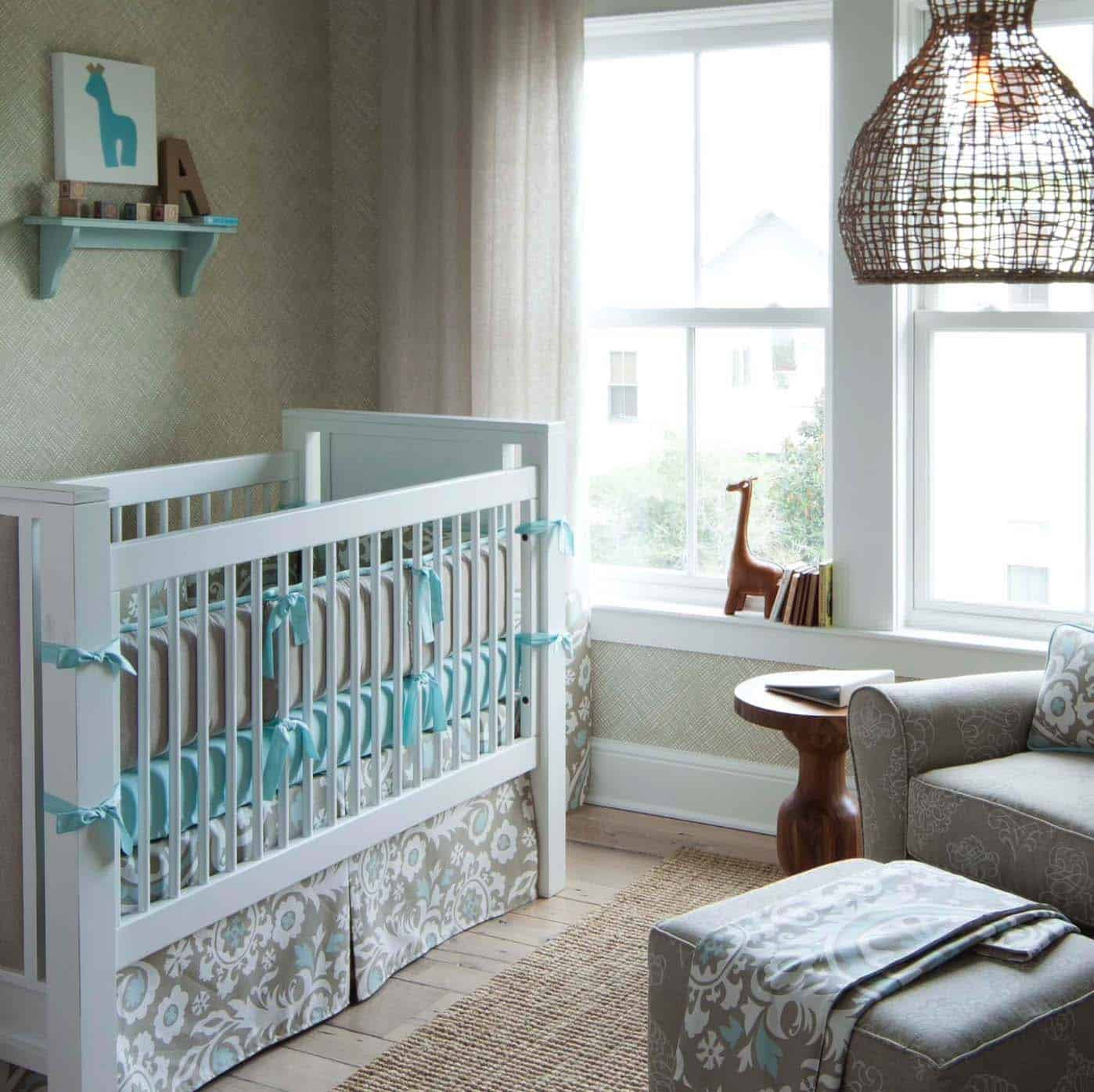 Stylish Nursery Decorating Ideas-31-1 Kindesign