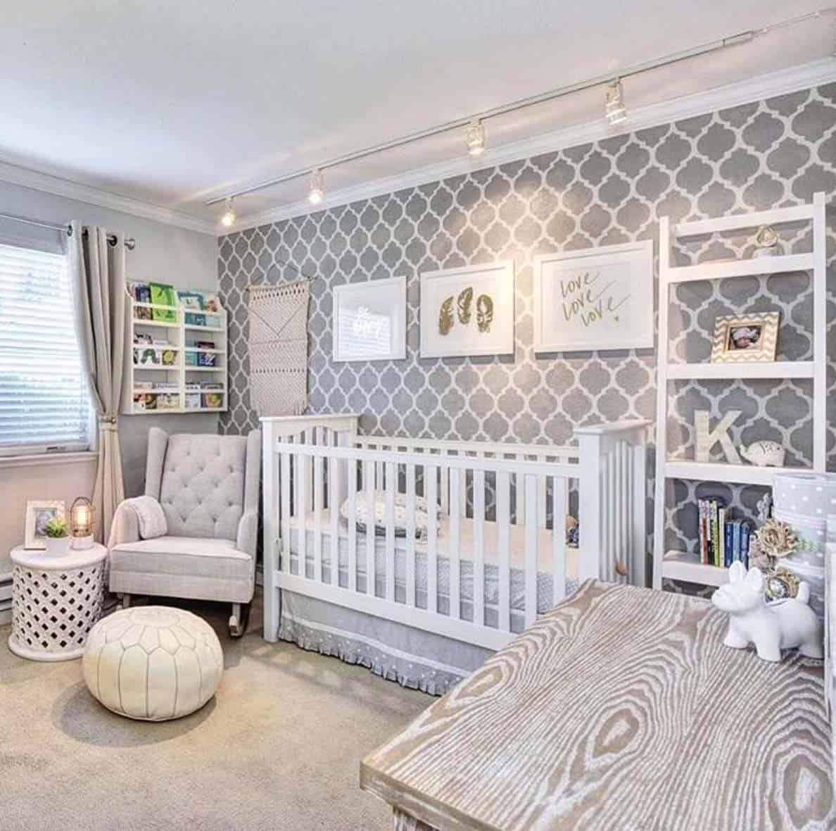 Stylish Nursery Decorating Ideas-36-1 Kindesign