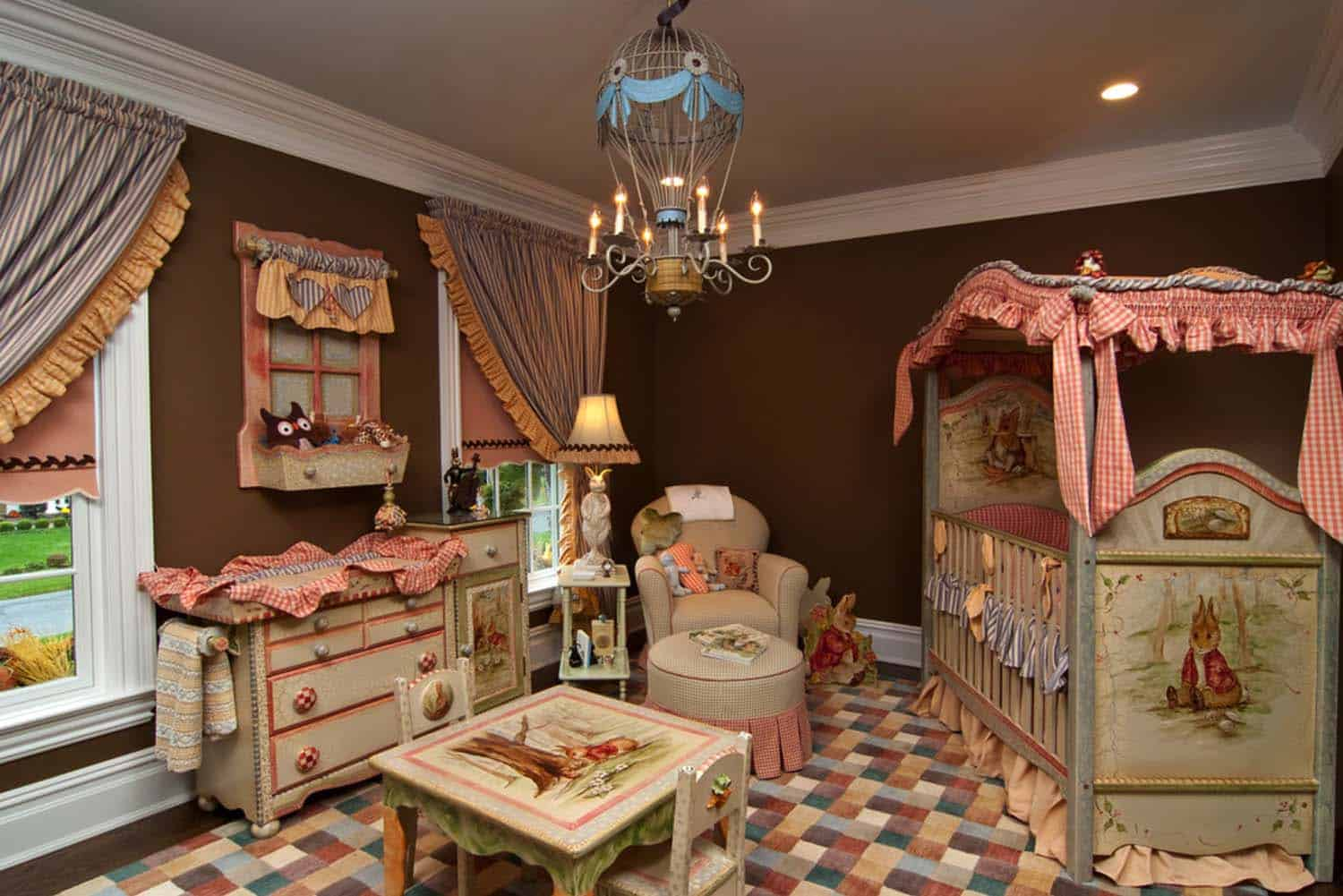 Stylish Nursery Decorating Ideas-41-1 Kindesign