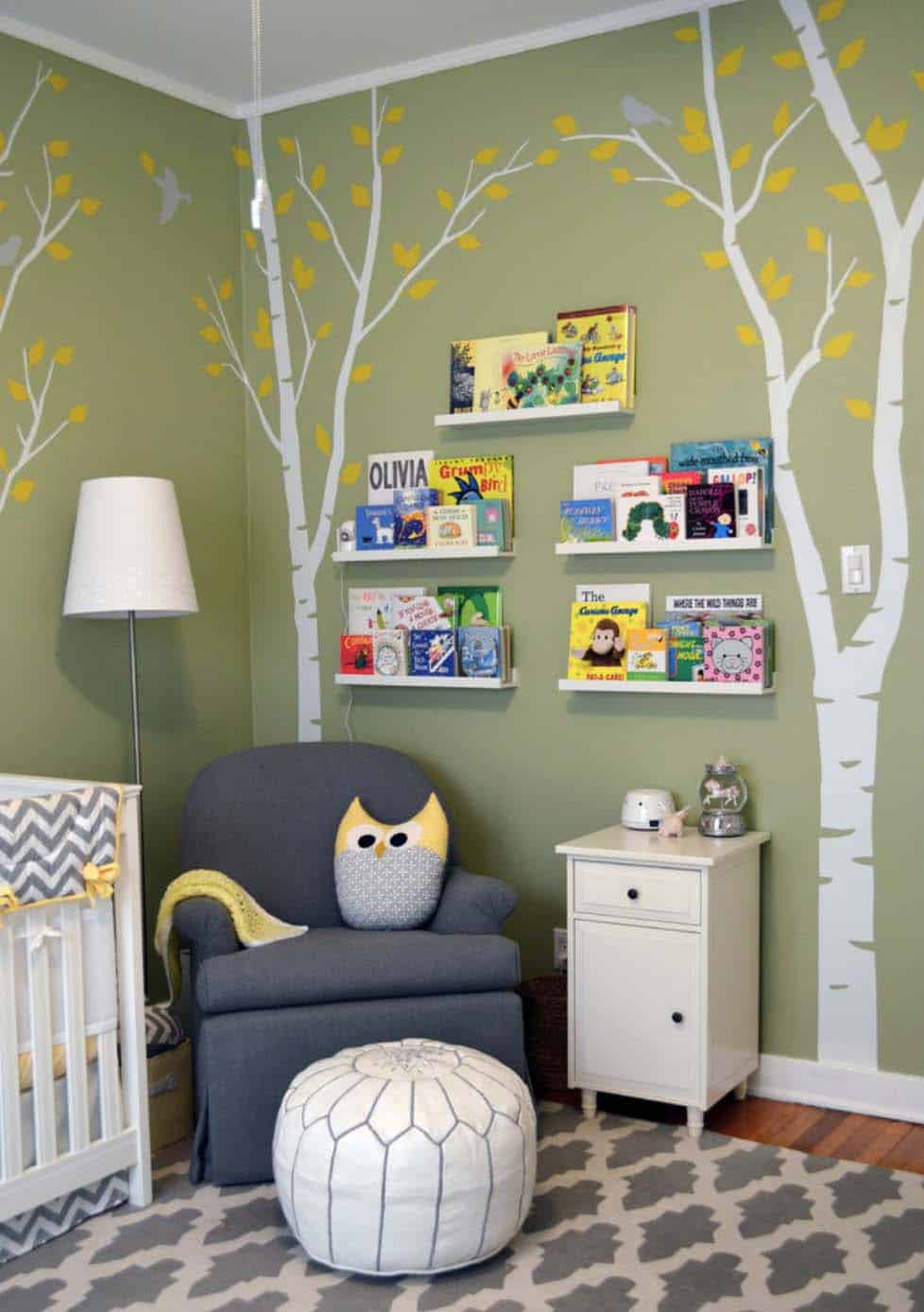 Stylish Nursery Decorating Ideas-42-1 Kindesign