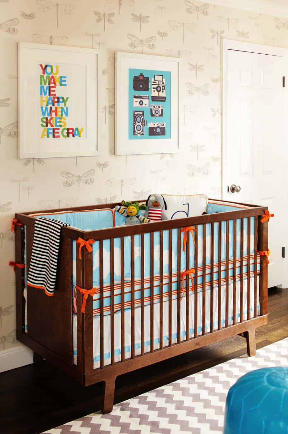 Stylish Nursery Decorating Ideas-45-1 Kindesign