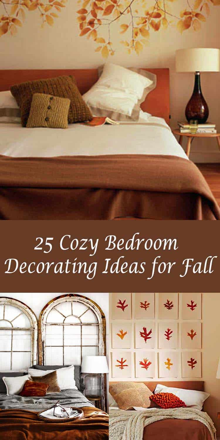 25 insanely cozy ways to decorate your bedroom for fall - Interior Decorating Ideas Bedroom