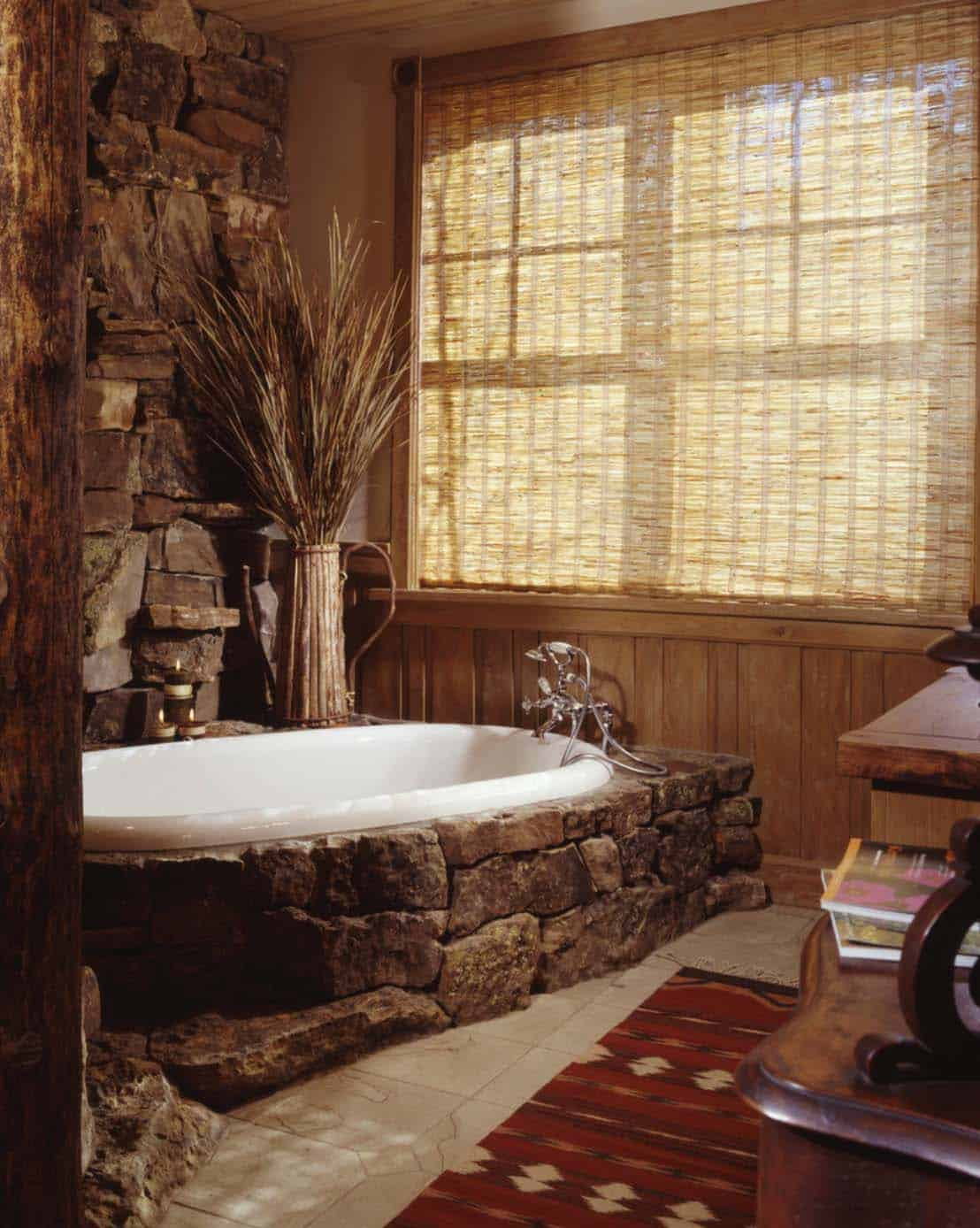 . 21 Gorgeous contemporary bathrooms featured in mountain retreats