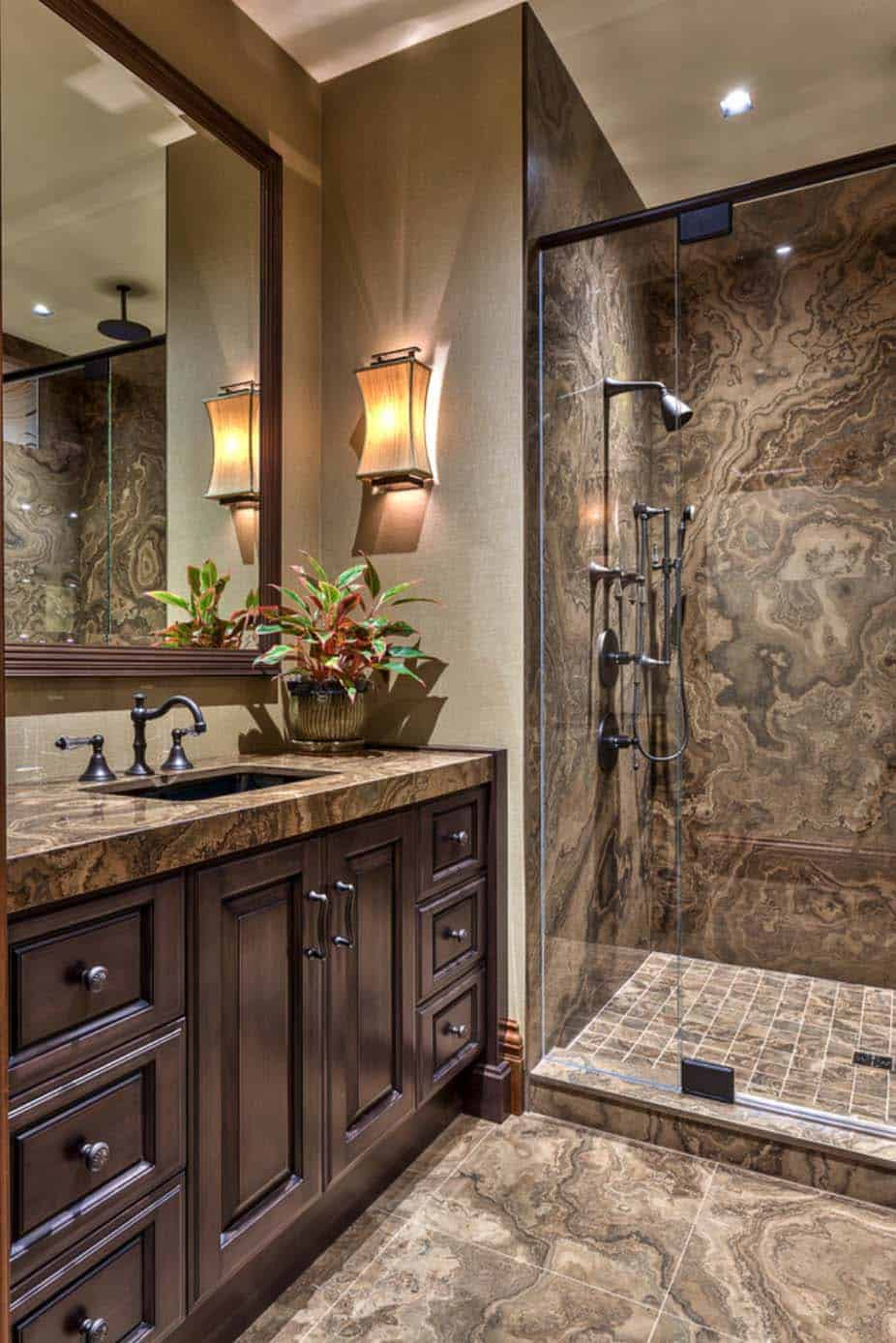 21 Gorgeous contemporary bathrooms featured in mountain ...