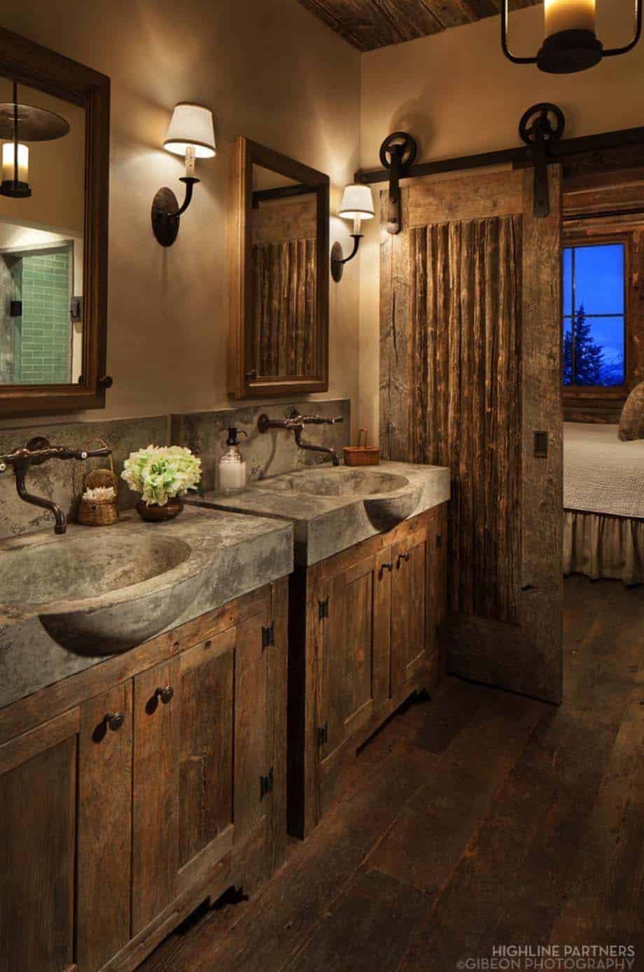 Contemporary Bathrooms-Mountain Retreats-17-1 Kindesign