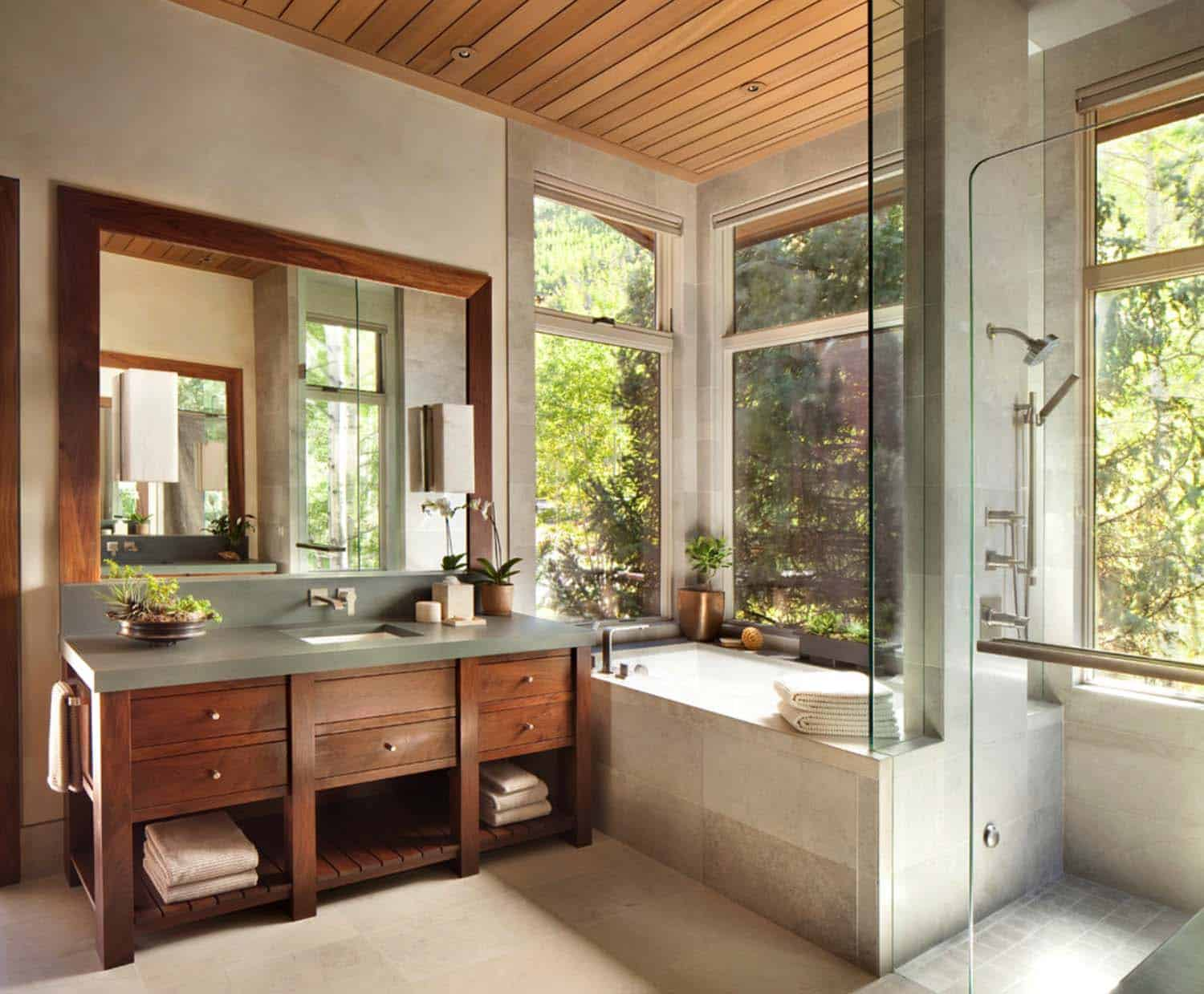 Contemporary Bathrooms-Mountain Retreats-18-1 Kindesign