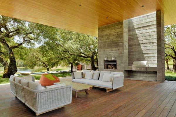 featured posts image for Net-zero home in Sonoma features indoor-outdoor living and a green roof