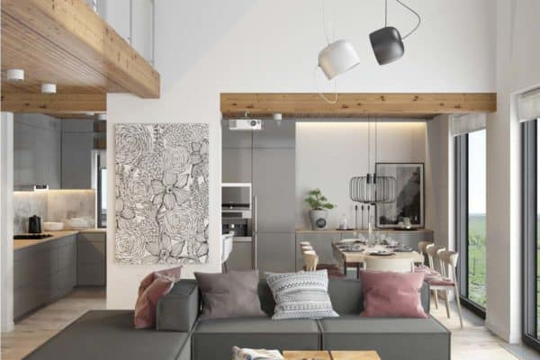 featured posts image for Fresh contemporary living space with minimalist tones in Ukraine