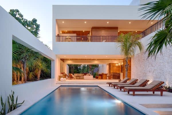 featured posts image for Ecoluxe villa in Mexico with amazing indoor-outdoor connection
