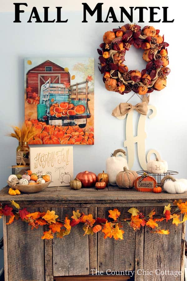 Frugal Fall Decorating Ideas