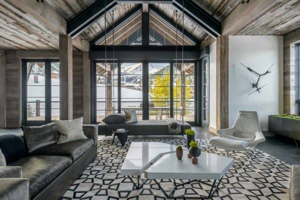 featured posts image for Hillside Snowcrest: The ultimate modern-rustic ski chalet in Montana