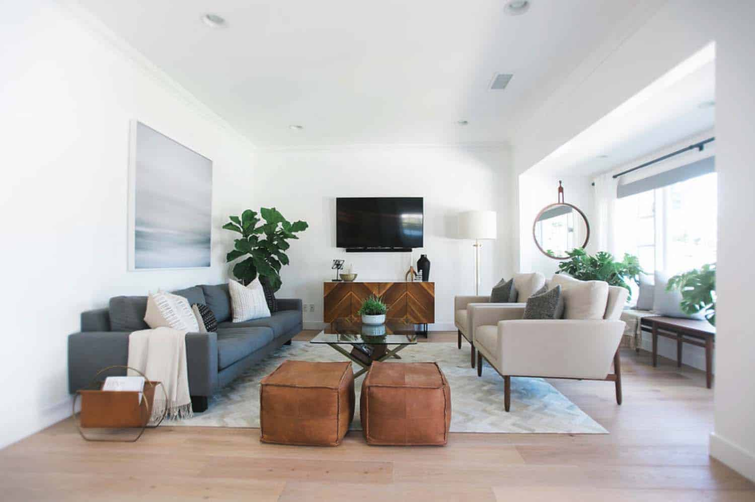 Mid century modern house in newport beach gets stylish - Mid century modern home decor ...