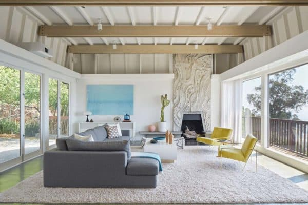 featured posts image for Mid-century modern residence in Berkley Hills gets artfully transformed