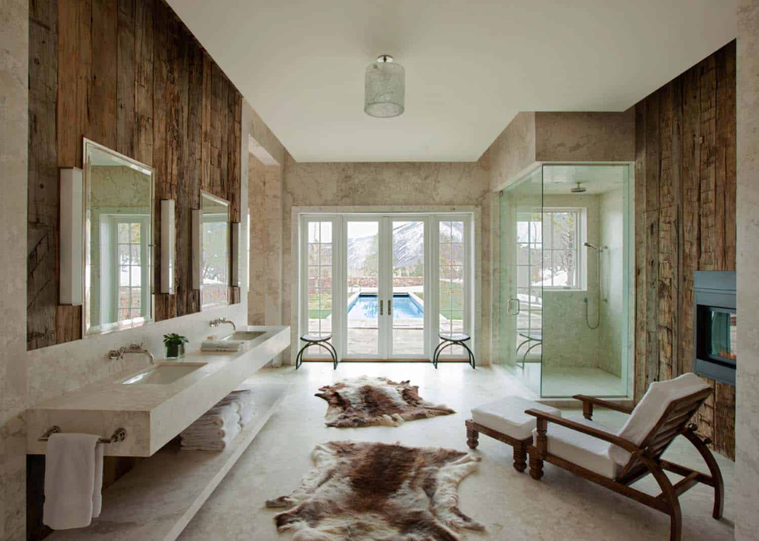 Modern Rustic Mountain Retreat-Frank de Biasi Interiors-16-1 Kindesign
