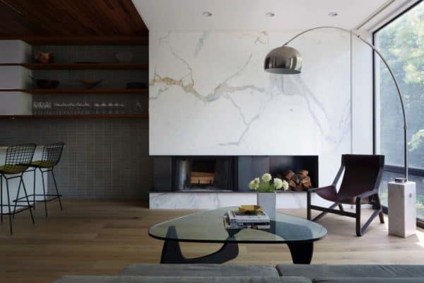 featured posts image for Sleek New York City townhouse exhibits eye-catching details