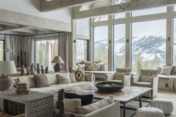 featured posts image for Rustic mountain home in Montana's Rocky Mountains creates zen feeling