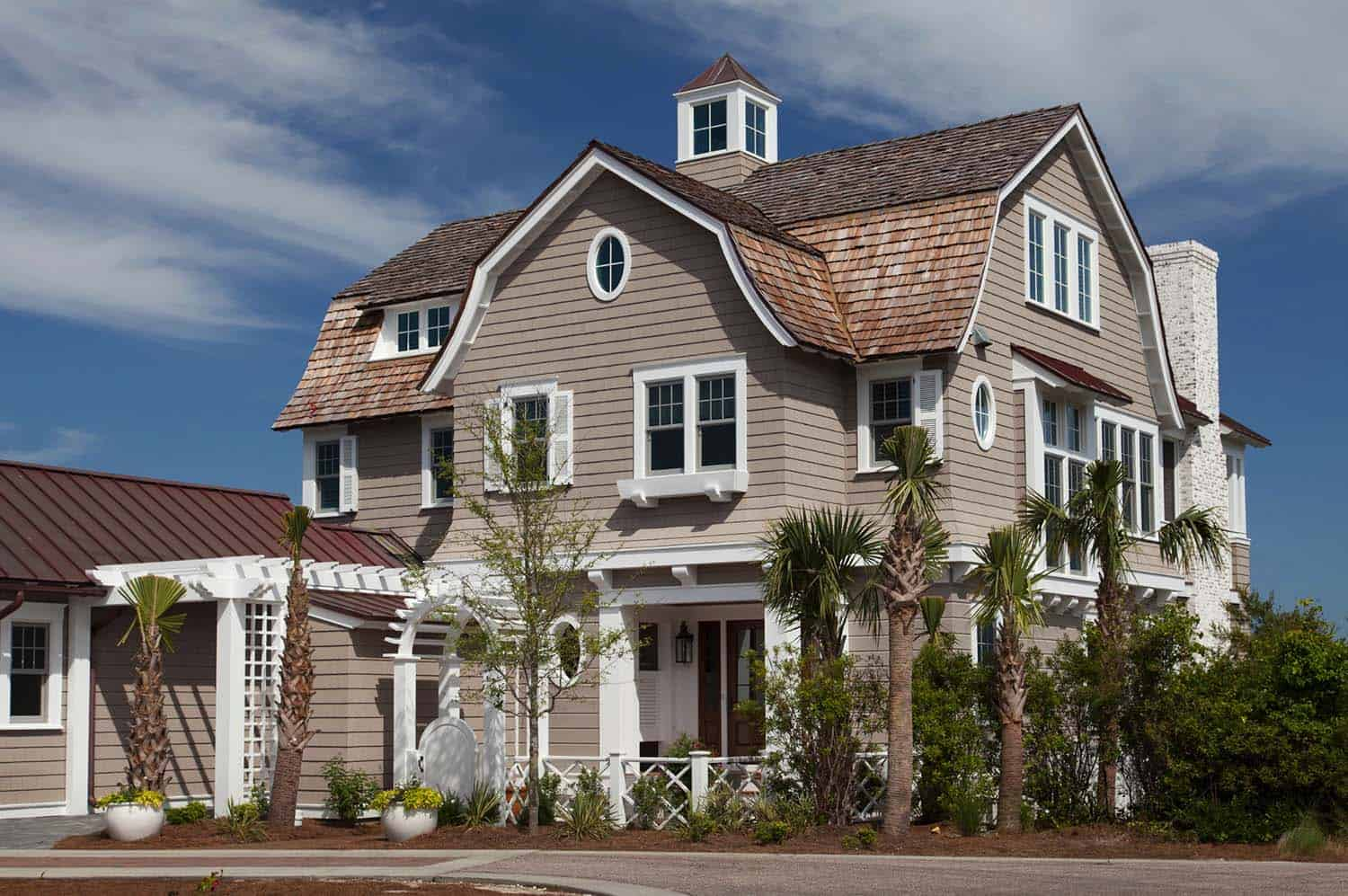 breathtaking shingle style beach house in watersound florida