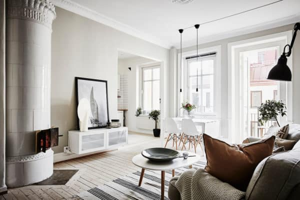 featured posts image for Bright two-room apartment in Gothenburg features fantastic layout